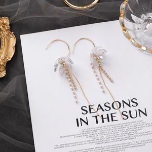Unique Zone Jewelry - ❤️️NEW UNIQUE Flower Hoop Handmade Earrings F24